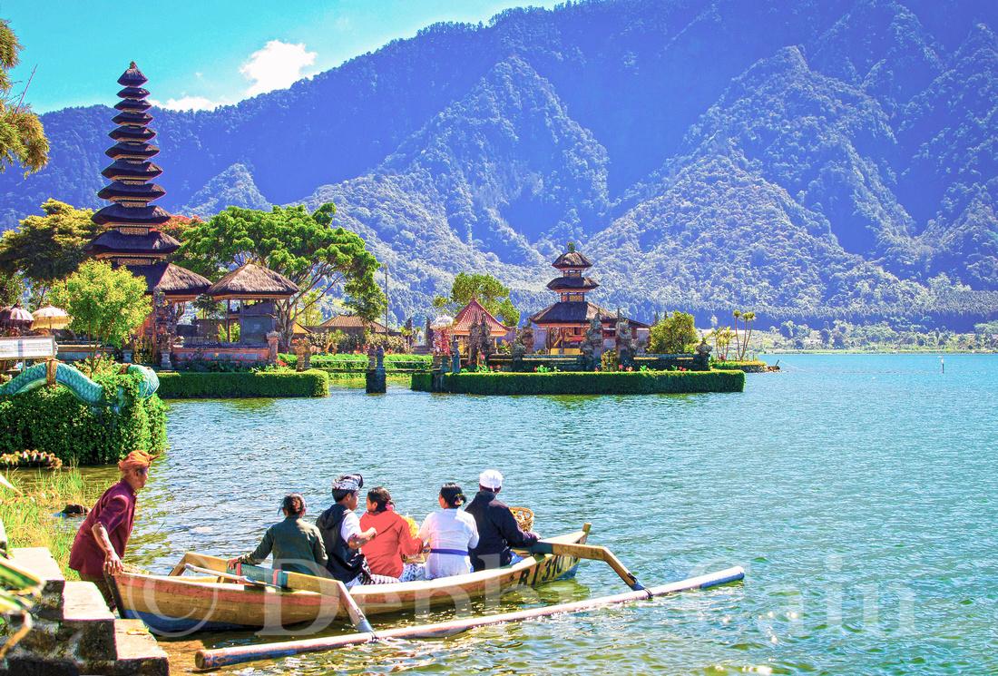 Boat Ride in Bedugul
